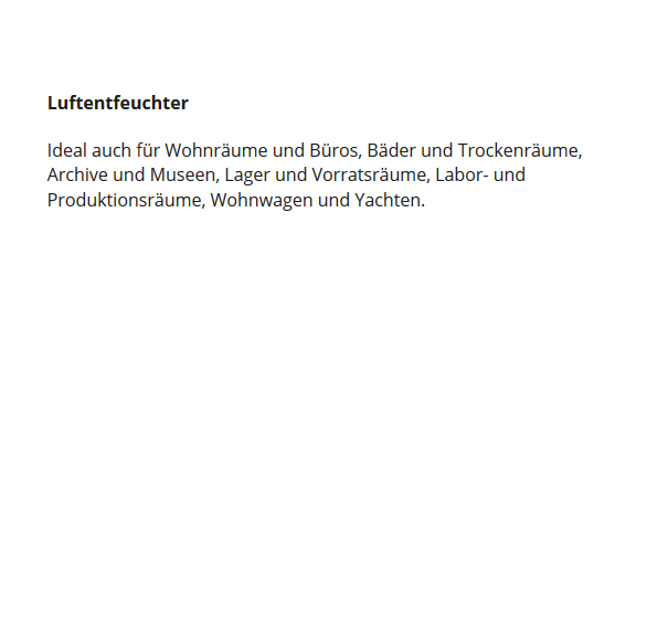 Luftentfeuchter für 67365 Schwegenheim