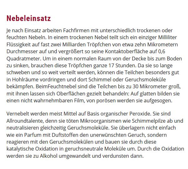 Vernebler Nebeleinsatz für 67365 Schwegenheim