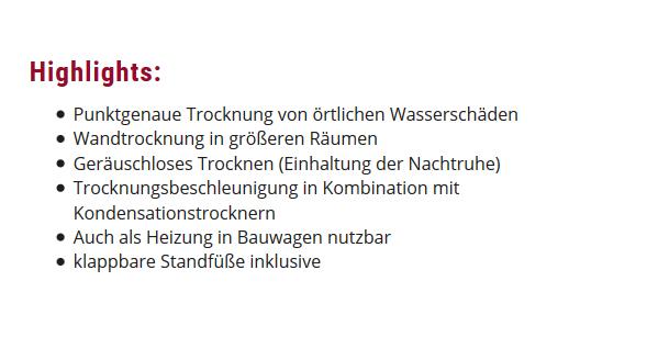 Wasserschaden Sanierung für  Rödersheim-Gronau